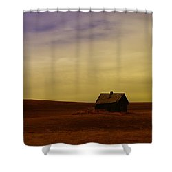 Little House On The Prairie  Shower Curtain by Jeff Swan