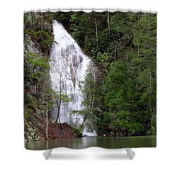 Little Laurel Branch Falls Shower Curtain