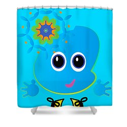 Little Mo Shower Curtain by J Riley Johnson