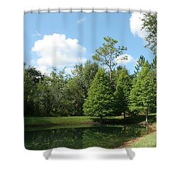 Little Pond Shower Curtain