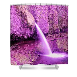Little Pony Tail Falls  Shower Curtain by Jeff Swan