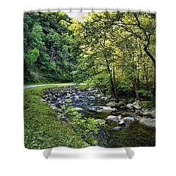 Little River Road Shower Curtain