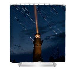 Little Sable Lighthouse Shower Curtain