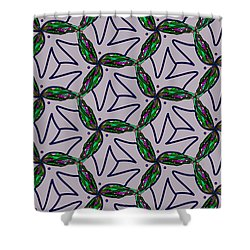 Shower Curtain featuring the digital art Little Something For The Nest by Elizabeth McTaggart