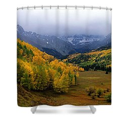 Little Meadow Of The Sublime Shower Curtain by Eric Glaser