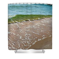 Little Wave Shower Curtain