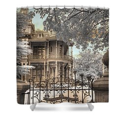 Littlefield Home Shower Curtain by Jane Linders
