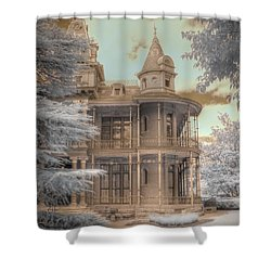 Littlefield Mansion Shower Curtain by Jane Linders