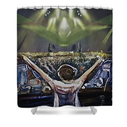 Live Dj Shower Curtain