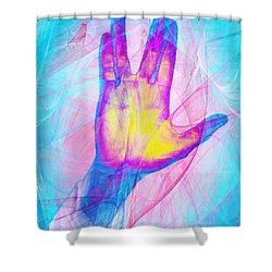 Live Long And Prosper 20150302v1 Shower Curtain