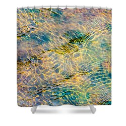 Live Water - Featured 2 Shower Curtain by Alexander Senin