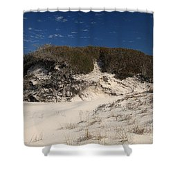 Lively Dunes Shower Curtain by Adam Jewell