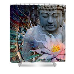 Living Radiance Shower Curtain