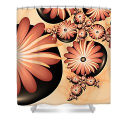 Living Stones Shower Curtain