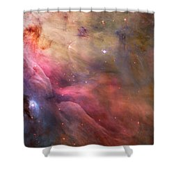 Ll Ori And The Orion Nebula Shower Curtain by Movie Poster Prints