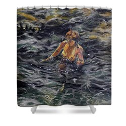 Lloret De Mar-spain Shower Curtain
