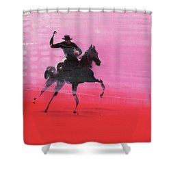 Lobby Shower Curtain