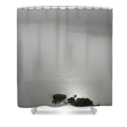 Loch Awe Misty Morning  Shower Curtain by Gary Eason