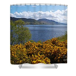 Shower Curtain featuring the photograph Loch Ness - Springtime by Phil Banks