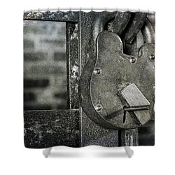 Lock And Key Shower Curtain