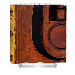 Lock Down Shower Curtain by Skip Hunt