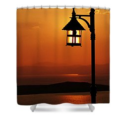 Locked Sun Shower Curtain
