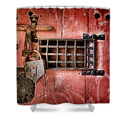 Locked Up Shower Curtain