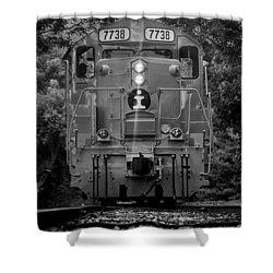 Locomotive 7738 Shower Curtain