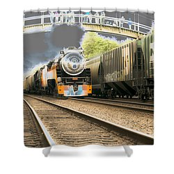 Locomotive Engine 4449 Shower Curtain