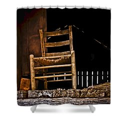 Loft Chair 2 Shower Curtain by Greg Jackson