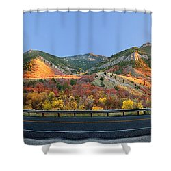 Logan Canyon Shower Curtain
