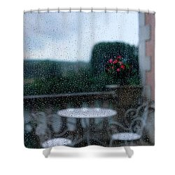 Loire Valley View Shower Curtain