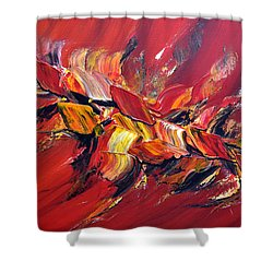 L'oiseau De Feu Shower Curtain by Thierry Vobmann