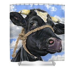 Lola Shower Curtain by Sarah Batalka