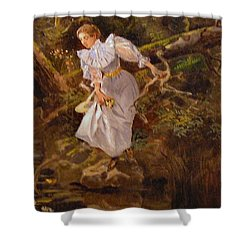 Lolly Shower Curtain by Charles Russell