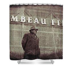Lombardi At Lambeau Shower Curtain