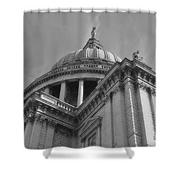 London St Pauls Cathedral Shower Curtain