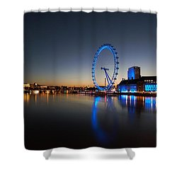 Shower Curtain featuring the photograph London 1 by Mariusz Czajkowski