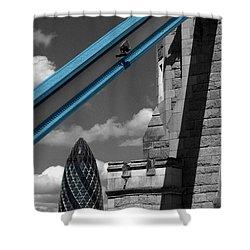 London City Frame Shower Curtain