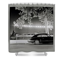 Porsche In London Shower Curtain