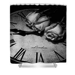 London Rose Shower Curtain