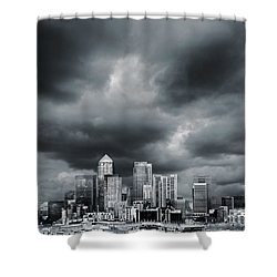 London Skyline 7 Shower Curtain by Mark Rogan