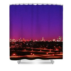 London View 1 Shower Curtain