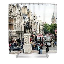 London Whitehall Shower Curtain