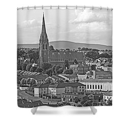 Londonderry Shower Curtain by Mary Carol Story