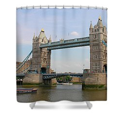 London's Tower Bridge Shower Curtain