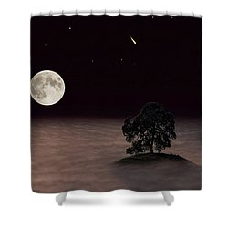 Lone Oak Shower Curtain