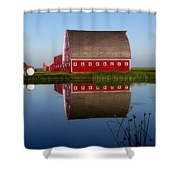 Lone Star Farms Shower Curtain by Larry Trupp