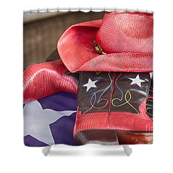 Lone Star Gal 2 Shower Curtain
