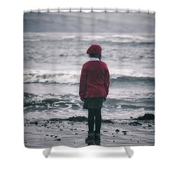 Lonely Shower Curtain by Joana Kruse
